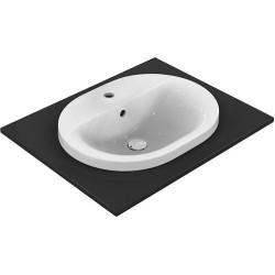 Idéal standard, lavabo à encastrer Connect 550x430 blanc. E503901