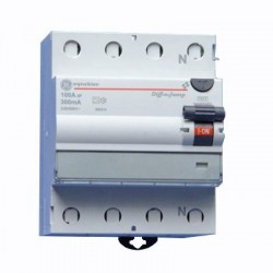 Vynckier Diff-o-Jump interrupteur differentiel type A 4P 100A 300 mA D0JA4100/300