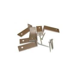 Alape, set raccords (4 pièces) lavabo à sous encastrer. 980235