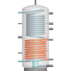 Boiler échangeur tampon Aqua-Hygiena 500L inox serpentin  90917001