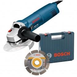 Bosch meuleuse d'angle compacte ø 125 1000w avec disque