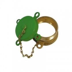 """Bouchon de remplissage 2 """" avec capuchon vert 455.103"""