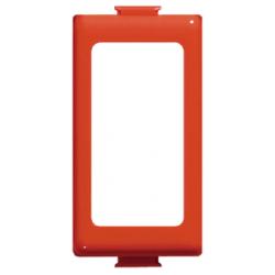 Bticino Adaptateur Magic pour 1 module - couleur rouge A5374/1R