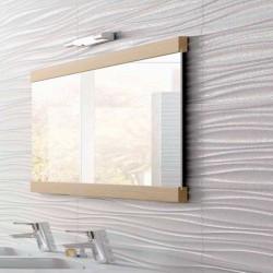 Dexxo Meuble miroir Stone de 80 cm dimensions 700x800x180