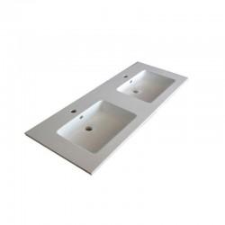 Dexxo Meuble vasque en résines Stone de 120 cm dimensions 1200X460
