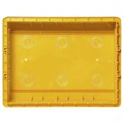 Bticino boîte d'encastrement multibox 4 modules - diamètres  externes 320x243x70 mm 16104