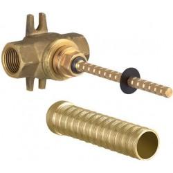 Dornbracht robinet d'arrêt à encastrer  1/2  eau froide nu 3562197090