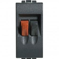 Bticino connecteur living - 2p - pour haut-parleur home cinema - bornes automatiques L4294