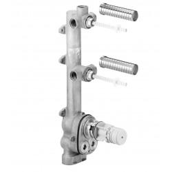 Dornbracht thermostat à encastrer plus 2 robinets d'arret xtool nouveau 3552697090