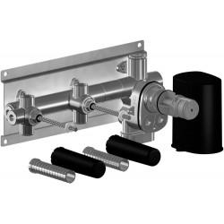 Dornbracht thermostat à encastrer plus 2 robinets d'arret xtool Symetrics 3552997090