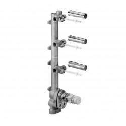 Dornbracht thermostat à encastrer plus 3 robinets d'arrêt xtool   3554697090