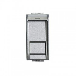 Bticino connecteur rj 45 light tech utp - cat. 6 - type btnet - 1 module NT4279/C6
