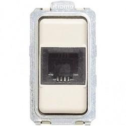 Bticino Connector RJ 11 Magic - 2 paires - connexion avec bornes à vis - 1 module 5982
