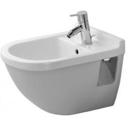 Duravit Bidet suspendu Strack 3 36x54cm avec un trou de robinet  2230150000