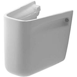 Duravit, cache-siphon pour lavabo d-code blanc. 08571800002