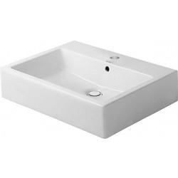 Duravit, lavabo 50cm avec plage robinet avec trou robinet blanc. 0454500000