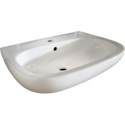 Duravit, lavabo d-code 65cm blanc. 23106500002