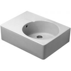 Duravit, lavabo vasque gauche blanc, 0684600000