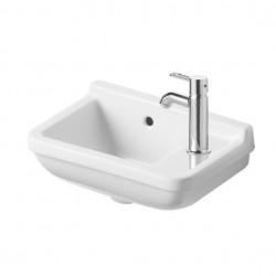 Duravit, lave-mains starck 3 40cm trou robinet droite blanc. 0751400000