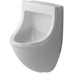 Duravit, urinoir starck 3 blanc supérieure, alimentation par-dessus sans mouche. 0822350000