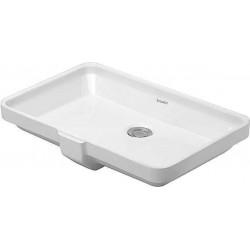 Duravit, vasque a sous encastrer 52,5cm blanc. 0316530000