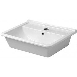 Duravit, vasque a sous encastrer sans trou Starck 3, 49cm blanc,  0305490000