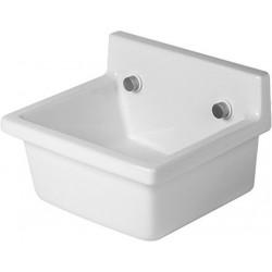 Duravit, vidoir starck 3 48cm blanc, déversoir mural 348x42,5cm sans trop-plein – blanc. 0313480000