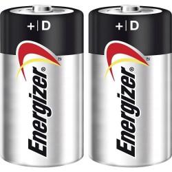 Energizer 2 x piles 1.5v max +d-lr20