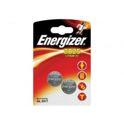 Energizer 2 x piles 3v lithium cr2025 ENECR20252