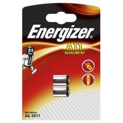 Energizer 2 x piles 6v e11a ENE2A11