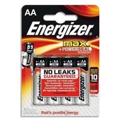 Energizer 4 x piles 1.5v aa.lr06 ENEMAXAABL4