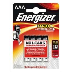 Energizer 4 x piles 1.5v aaa.lr03 MAXAAABL4