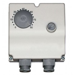 Euro Index  thermostat a plongeur 8g5 double 100mm 0-90° 14061