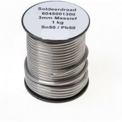 Fil à souder SN50-PB50 3 mm 1kg 500112050