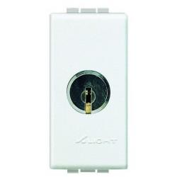 Bticino deux directions à clé light - 16a - 250v - 1p N4022