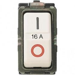 Bticino Disjoncteur Magic - magnétothermique - 2P - 220 V - 16A - 3000 A - 1 module 5236S