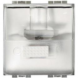 Bticino éclairage de passage (plinthe/sol) avec led blanche - 230v - 2 modules L4382/230