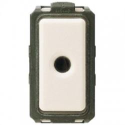 Bticino Interrupteur à Jack Magic - 2 contacts NO - 10A - 48 V - 1 module 5124
