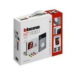 Bticino kit video couleur 1 bp linea 3000 + classe 300 x13e wifi + 3/4g 363911