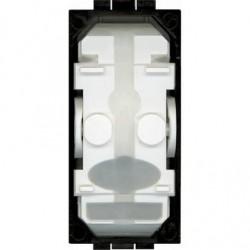 Bticino livinglight - interrupteur 2 directions 16ax 250v 1 module bornes automatiques sans touche LN4003A