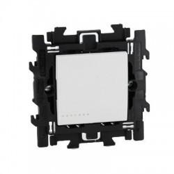 Bticino livinglight complet interrupteur bipolare 16a 250v à griffes  blanc N4002S