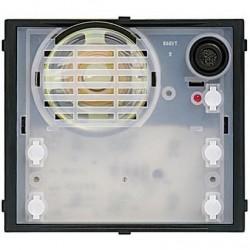 Bticino module micro/haut-parleur - pour kit video sfera - 2 fils - 2 boutons et led 342170