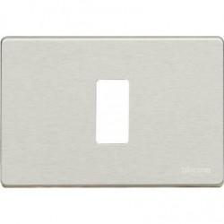 Bticino Plaque de recouvrement Magic - 1 module - pour réf. 503R/ 500S/13 - Oxydal 503/1/X