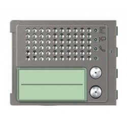 Bticino plaque frontale 351100 2 boutons robur - sfera new 351125