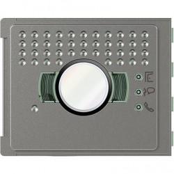 Bticino plaque frontale 351200 sans bouton all street - sfera new 351203