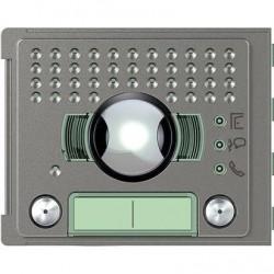 Bticino plaque frontale 351300 2 boutons robur - sfera new 351325
