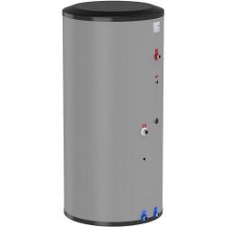 Flamco Boiler échangeur inox 400L vertical gris classe ErP B type Duo HLS-E 400 hauteur 1720 mm diamètre 795 mm 19908