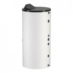 Flamco boiler solaire inox type Duo HLS-E Solar 200L spirale double blanc classe ErP B hauteur 1487 mm diamètre 595 mm  19915