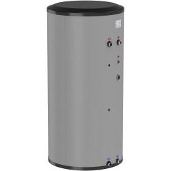 Flamco boiler solaire pour PAC inox 200L gris type WPS-E 200 hauteur 1487 mm diamètre 595 mm 19930