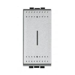 Bticino porte-fusible light tech pour fusibles 5x20 et 6,3x32 max. 250v 10a - 1 module NT4321
